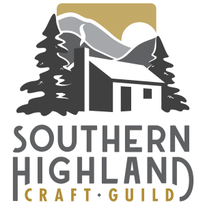 square full color logo, shcg, southern highland craft guild