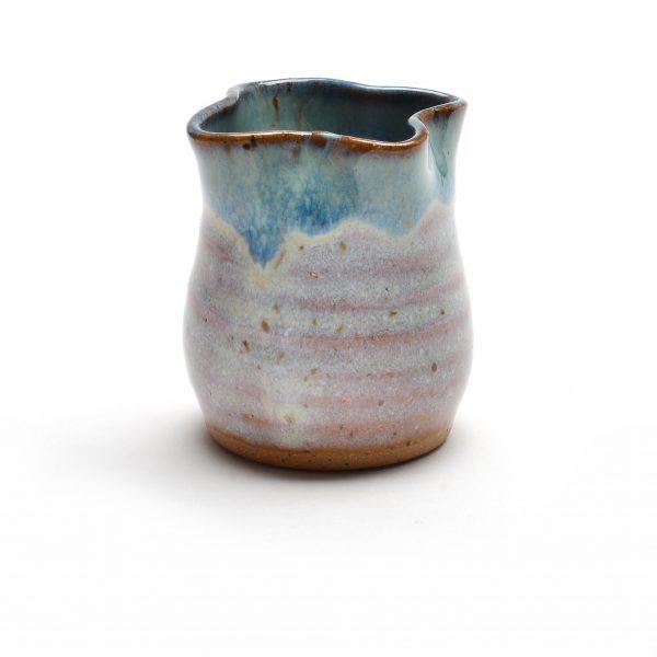 ceramic miniature, handmade toothpick holder, sue grier mini