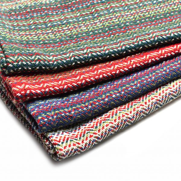multicolored cotton dishtowels handmade, green dishtowel, red dishtowel, blue dishtowel, white dish towel, durable