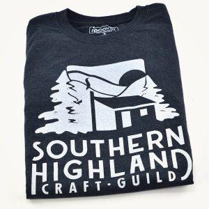 Southern Highland Craft Guild tshirt, folk art center