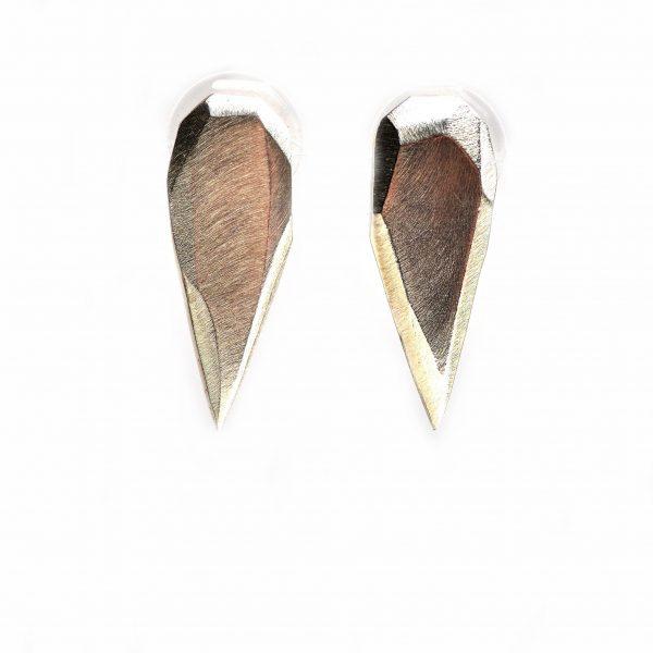 tribal teardrop earrings, badass jewelry, teardrop earrings, millenial jewelry, edgy earrings
