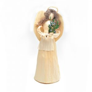 natural corn shuck angel, traditional crafts, corn shuck craft