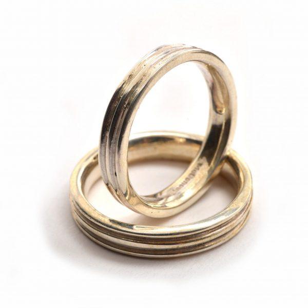 asheville wedding jewelry, handmade wedding bands