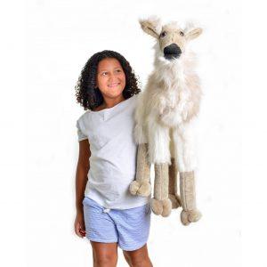 handmade llama puppet