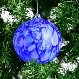 asheville glass blowing, handmade glass ornaments, weaverville glass blower