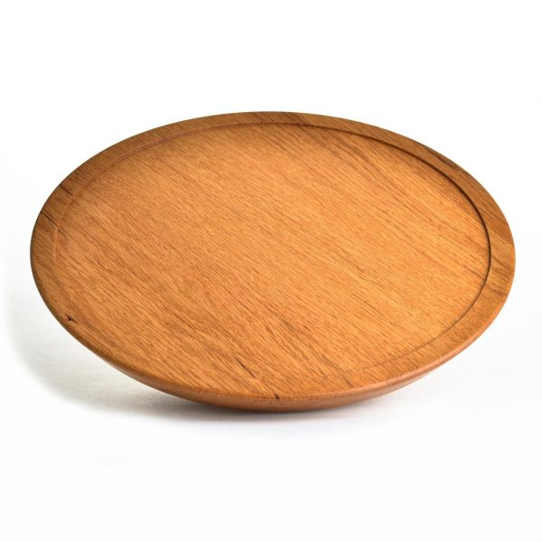 oak lazy susan