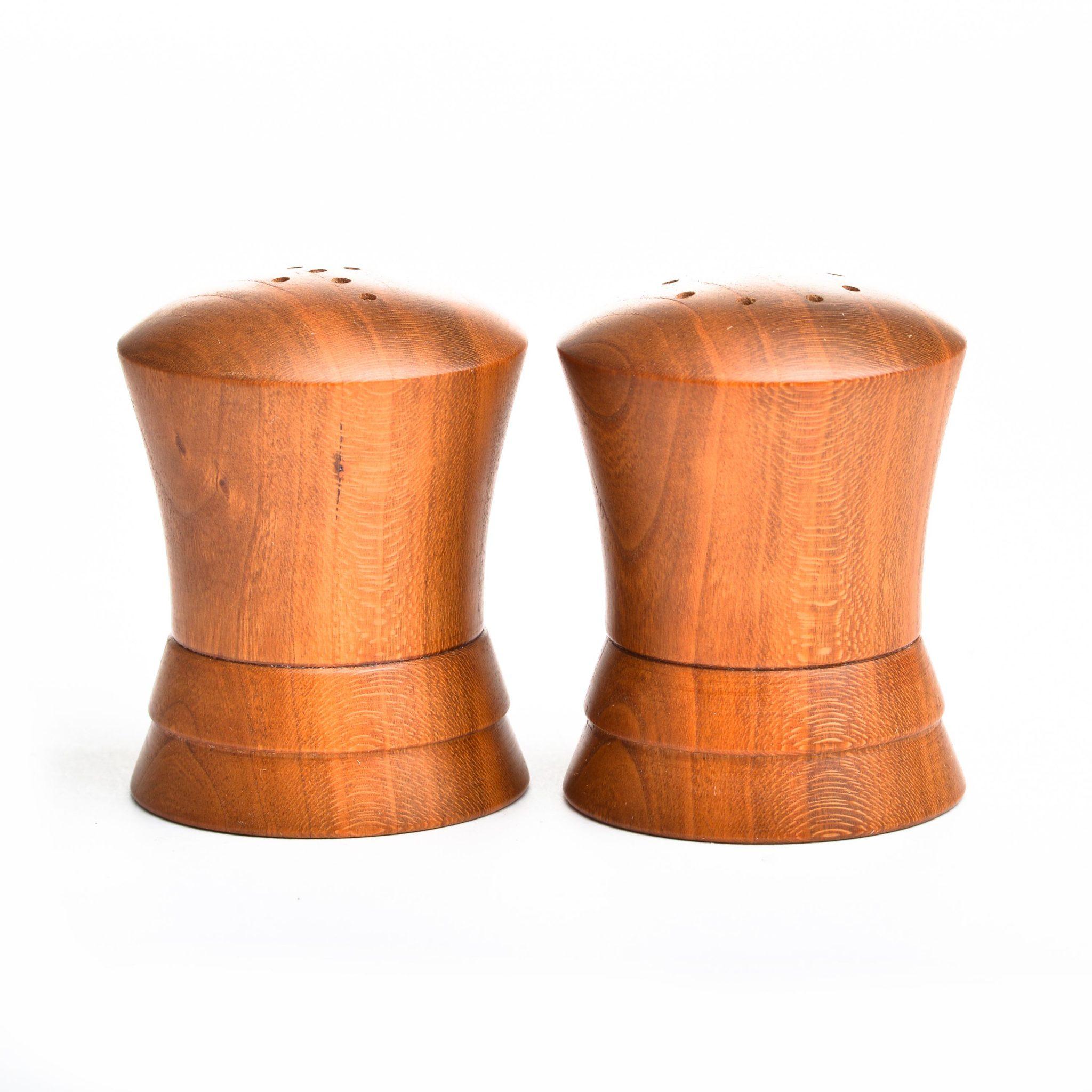 Turned Salt Pepper Shakers Southern Highland Craft Guild