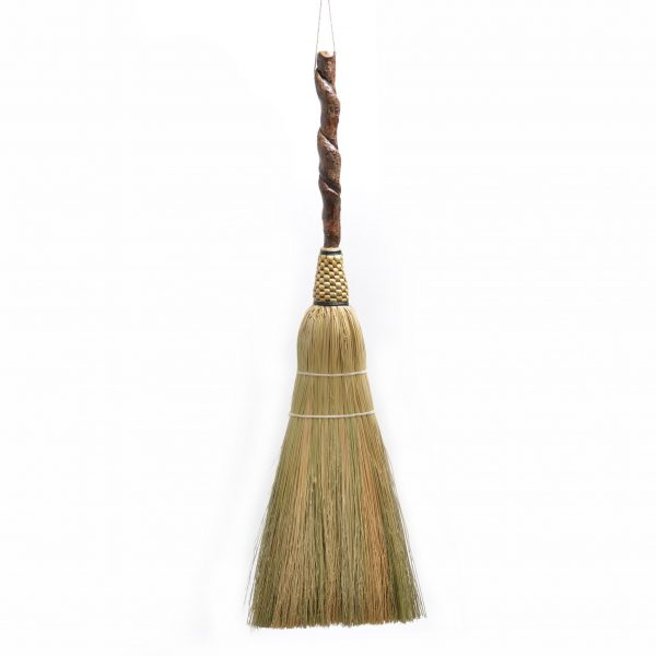 small fancy hearth broom