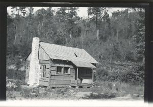 SHCG craft guild history allanstand cabin