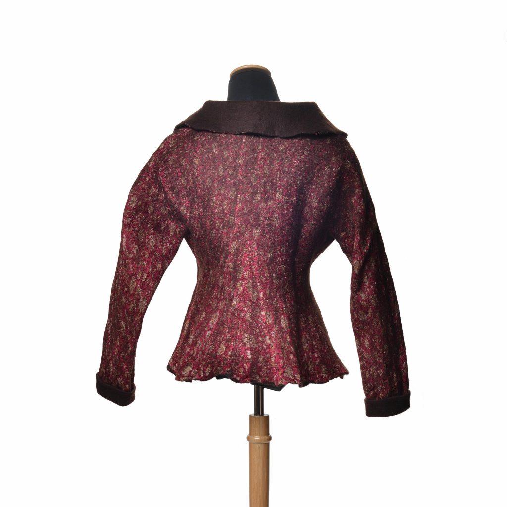 Wool and Silk Coat by Kami Watson