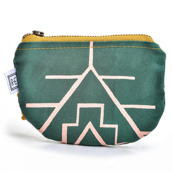 vegan gift, vegan coin purse, rachael elise bags