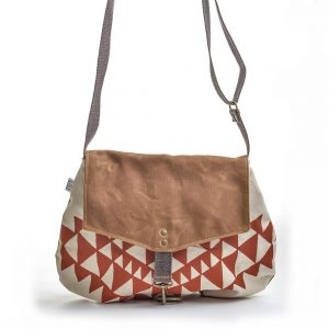 handmade vegan bag, handprinted canvas bag, waxed linen bag, folk art center, elementality asheville