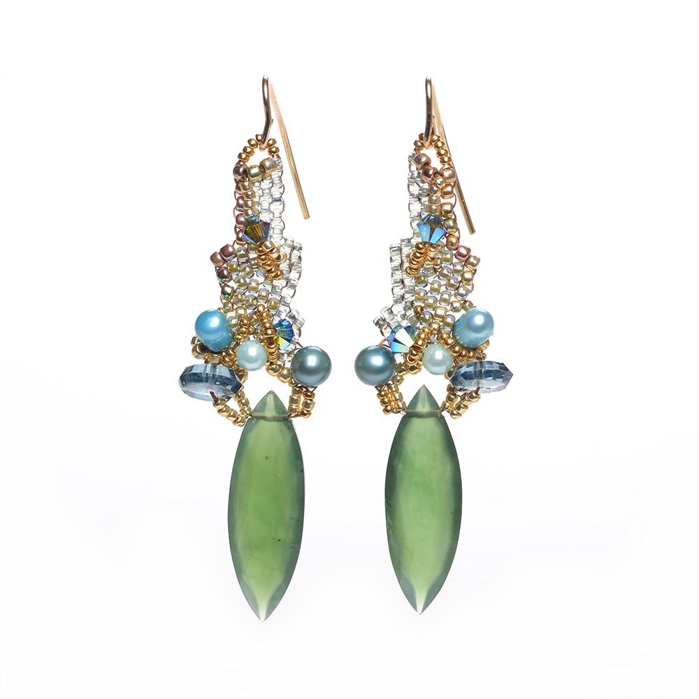 Orient Express Earrings by Amolia Willowsong