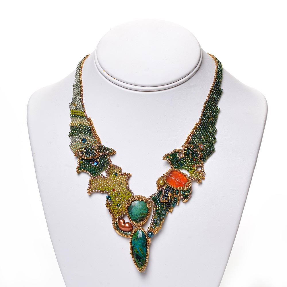 Orient Express Necklace by Amolia Willowsong