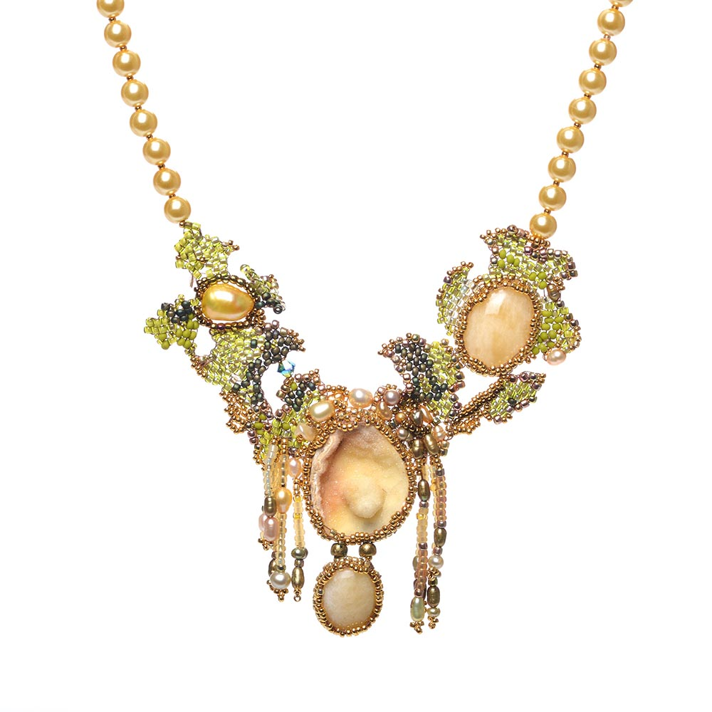 California Dreamin' Garden Style Necklace by Amolia Willowsong
