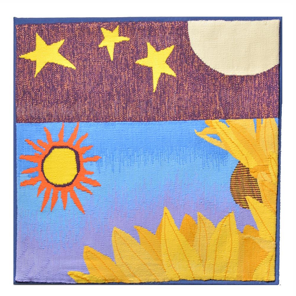 summer tapestry, modern tapestry weaver