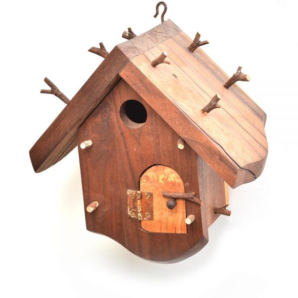 functional handmade birdhouse, gallery of the mountains birdhouse, nc birdhouse artist