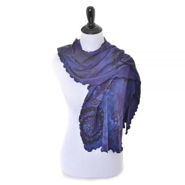 handmade soft colorful scarf
