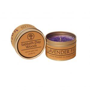 lavender candle, lavender scent candle, under $25 handmade gift, folk art center, nc candle