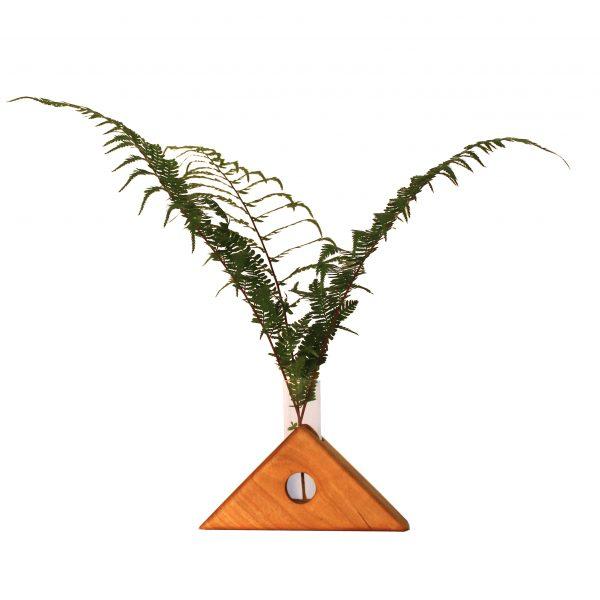 small wood bud vase, small housewarming gift, sabbath day woods