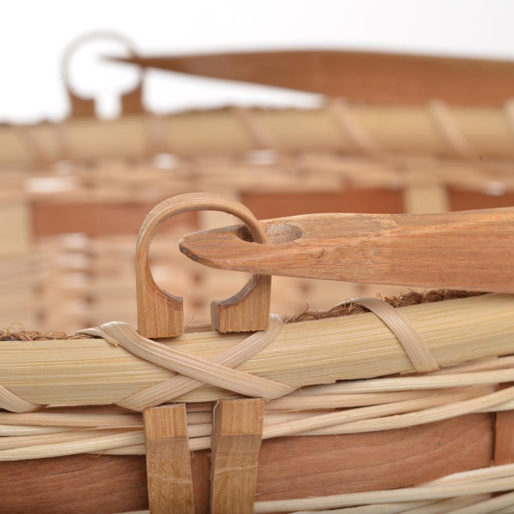 natural handmade basket, collectible handmade basket