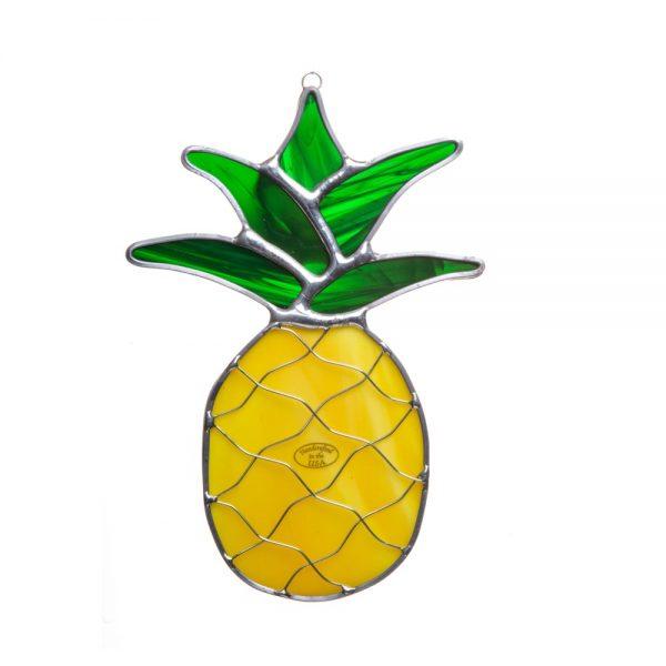 pineapple suncatcher, good luck gift, housewarming gift,