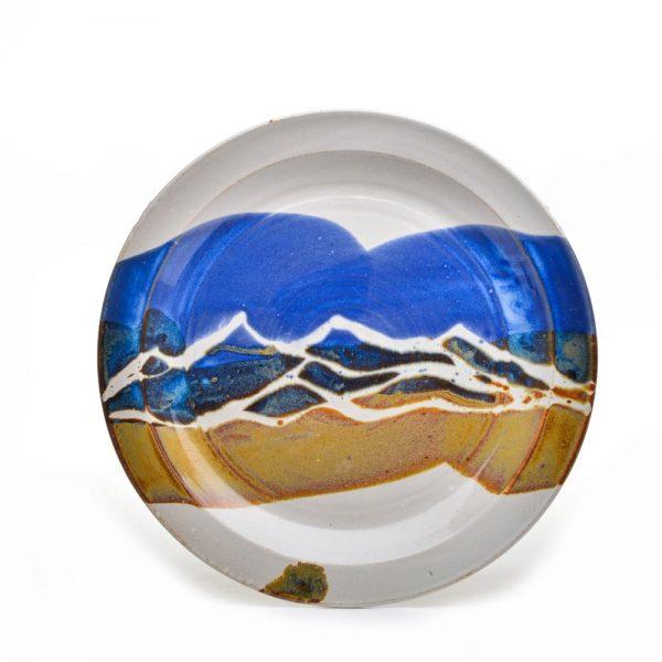 large ceramic mountain platter