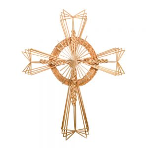 traditional cross, wheat cross, harvest cross, traditional appalachian crafts