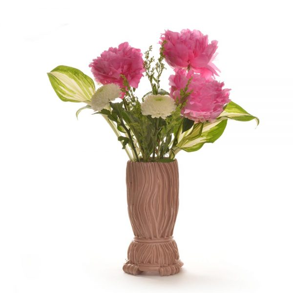 handmade ceramic ikebana vase by sue grier