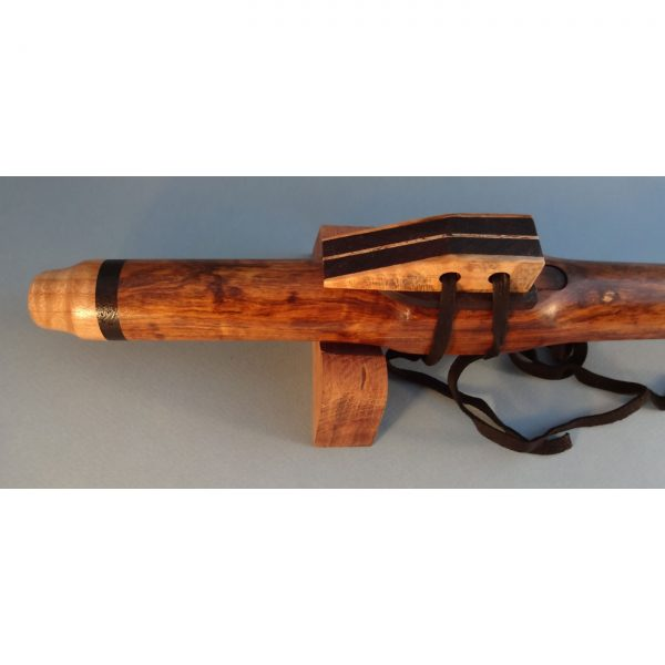 Tamboti handmade wooden flute by nc wood artist lee entrekin