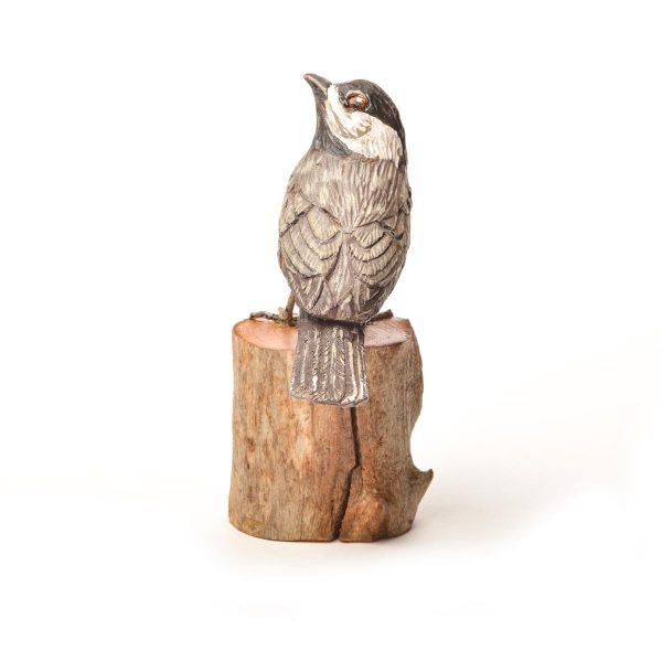 Chickadee, virginia hand carver