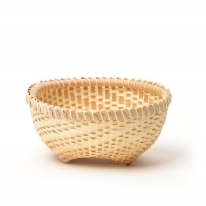 small handmade ash basket
