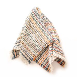 multicolored handwoven cotton napkin