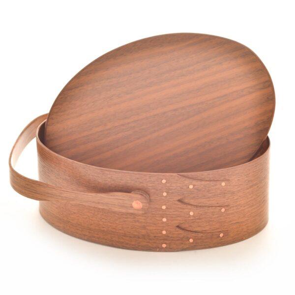 walnut shaker swing handle box