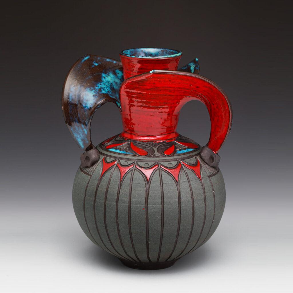 Evolution Vase by Larry Allen