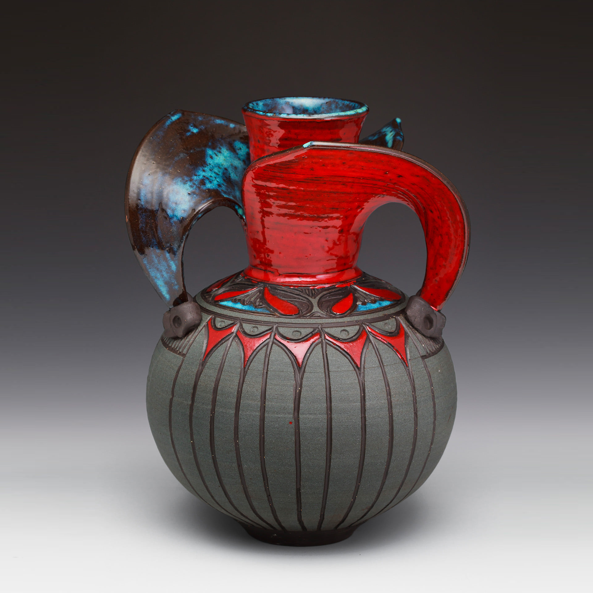 Evolution Vase by Larry Allen