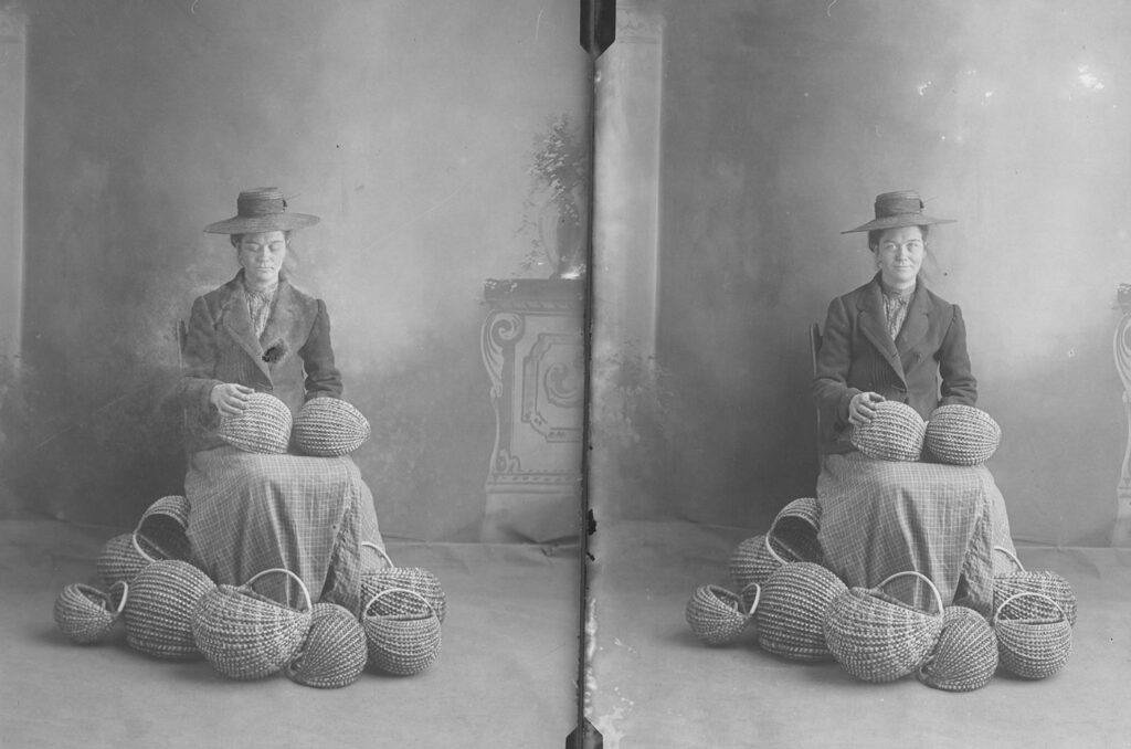 Unknown Basket Maker, Francis Goodrich Collection, Guild Archives