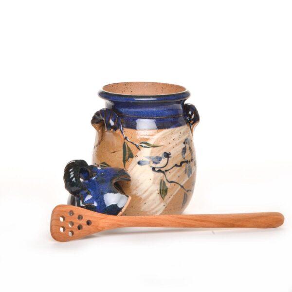 wood honey paddle