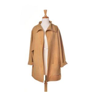 handmade goldenrod boxy jacket