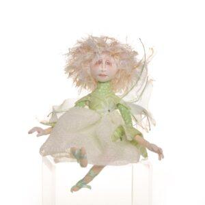 handmade pixie fairy doll,