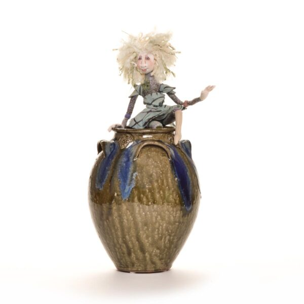 little handmade fairy doll