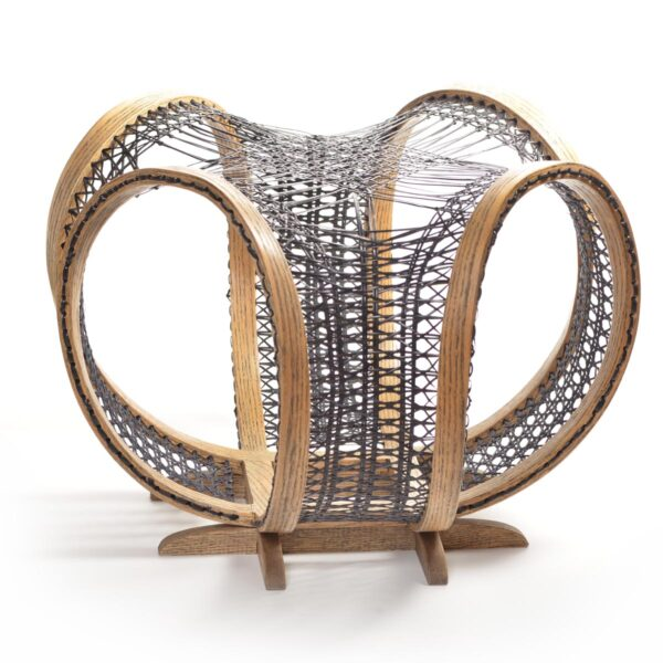 sculptural chair caning
