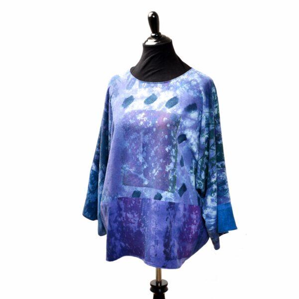 blue and purple handmade