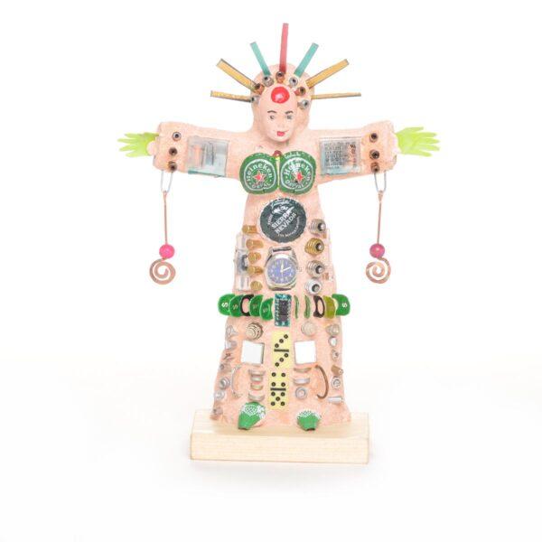 outsider art found object goddess