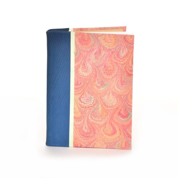 RED MARBLED HANDMADE JOURNAL