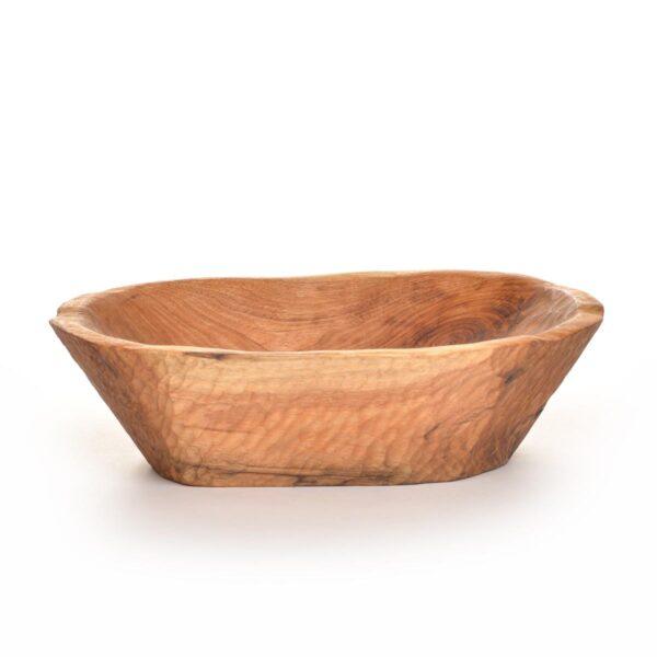 hand hewn rustic butternut bowl, rustic dough bowl