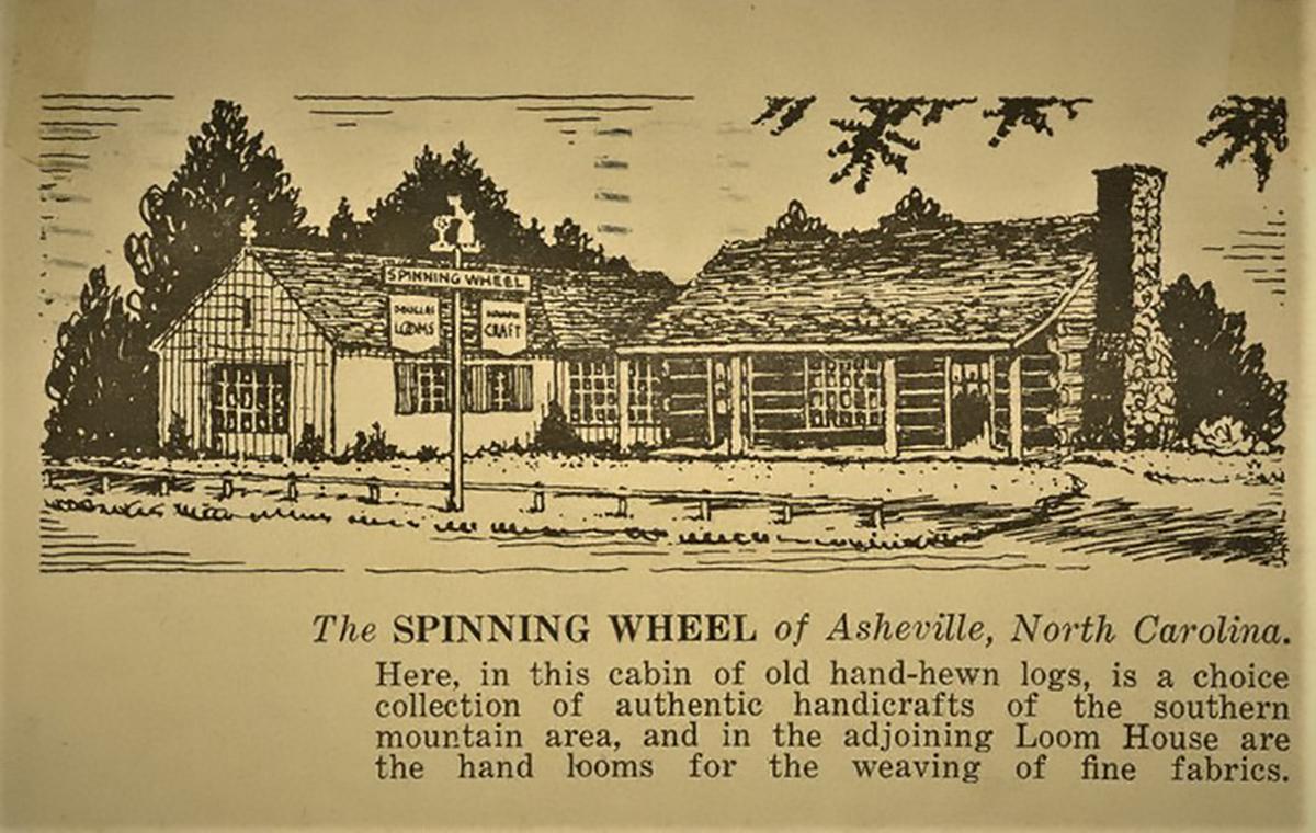 The Spinning Wheel shop at Beaver Lake