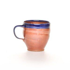 handmade functional ceramic mug, woodfired mug