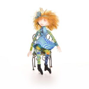 handmade fabric pixie fairy doll