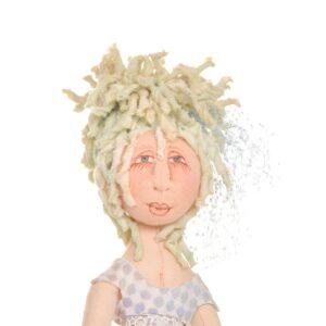 elegant elf handmade doll